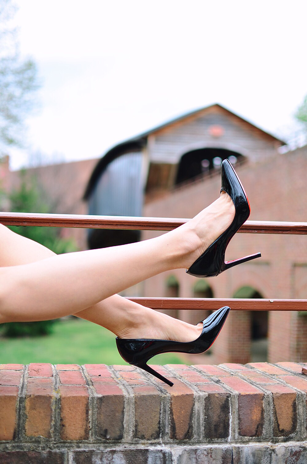 Wearing Louboutin Pigalle Pumps