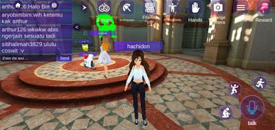 Begini Cara Bermain VRChat dengan Virtual Droid di Android