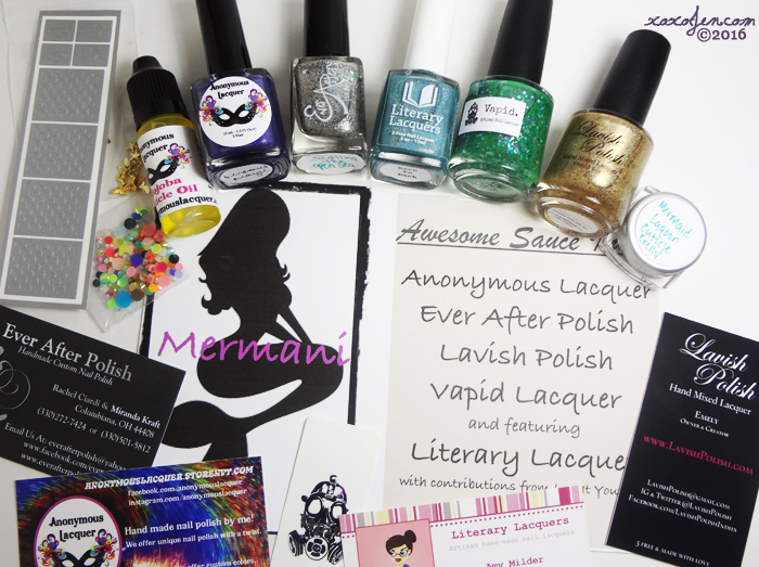 xoxoJen's review of Awesome Sauce Mermaid box