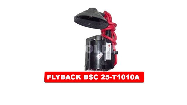 PERSAMAAN FLYBACK BSC 25-T1010A BESERTA DATA PIN