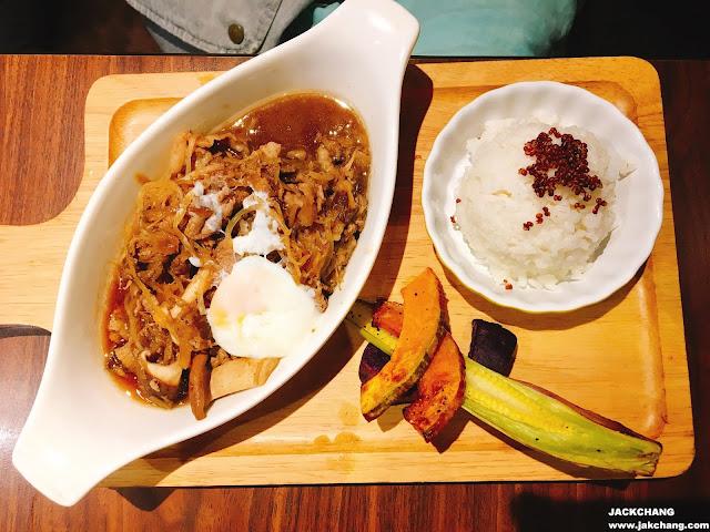 Beef with Sukiyaki sauce