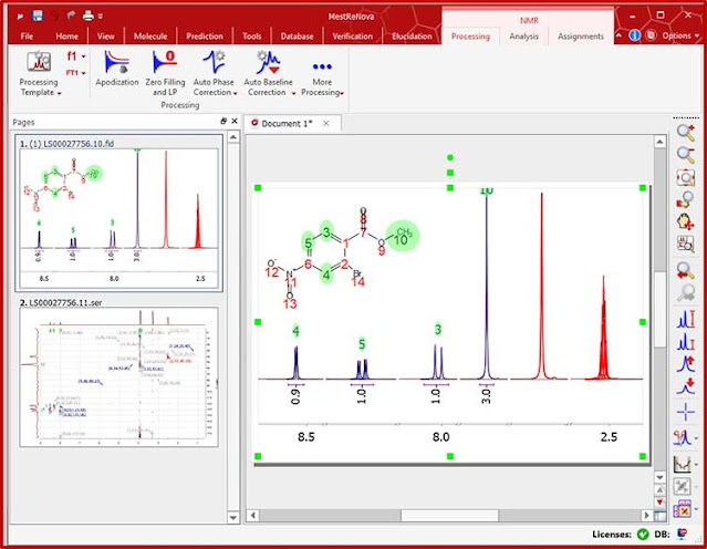 Download Mestrelab Research Mnova 14.2 full freely newest version