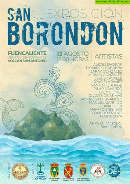 La exposición colectiva sobre San Borondón comienza este viernes en Fuencaliente su recorrido por la Isla