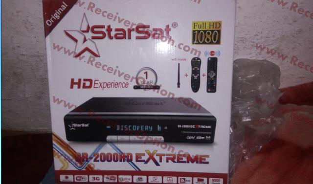 STARSAT SR-2000HD EXTREME RECEIVER NEW SOFTWARE V2.90