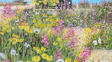Flores silvestres, jardines y paisajes de la campiña inglesa con Lucy Grossmith