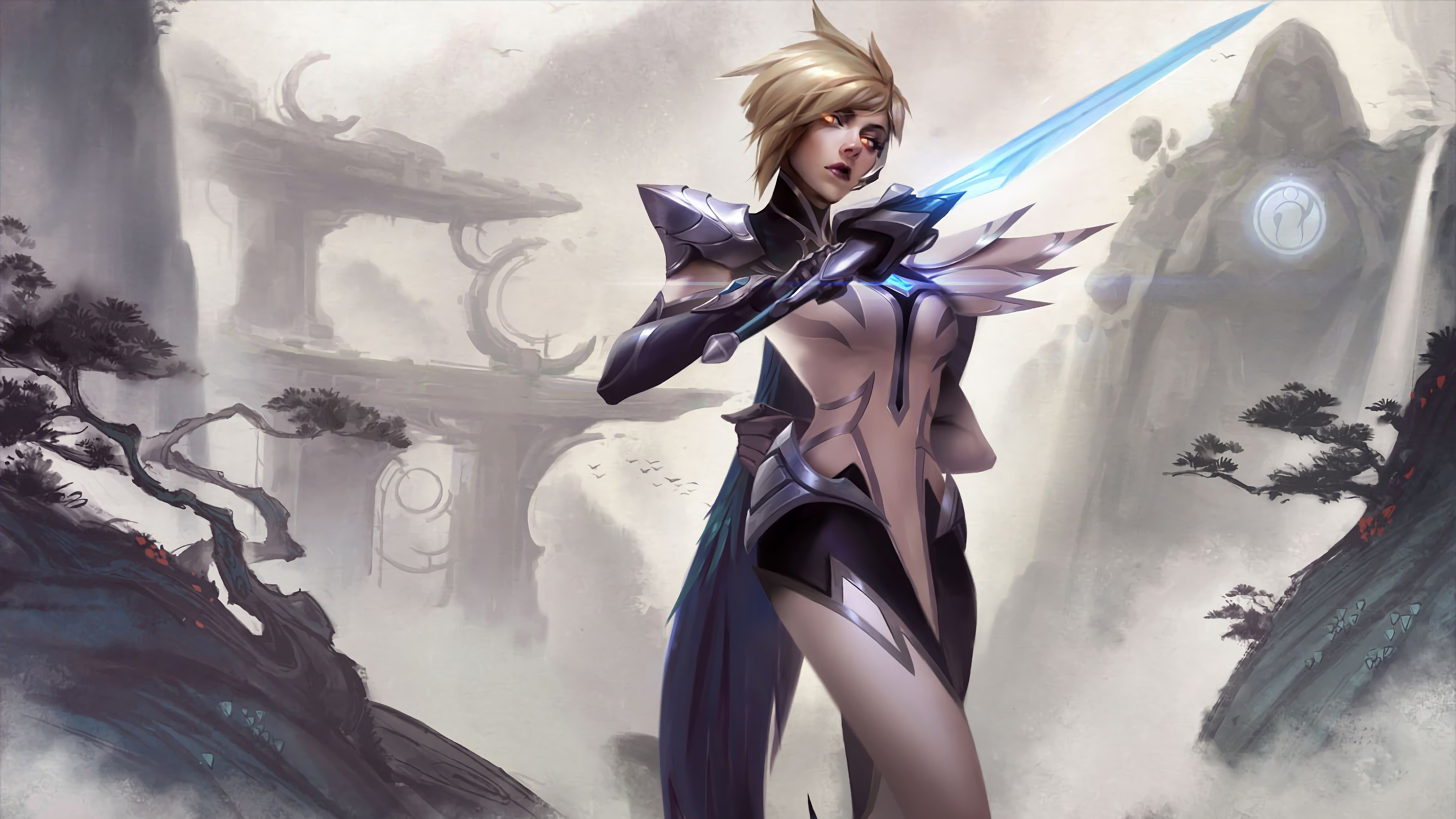 Invictus Gaming Fiora Splash Art Lol 4k Wallpaper 62