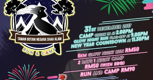 Glow Night Run & Camping 2017