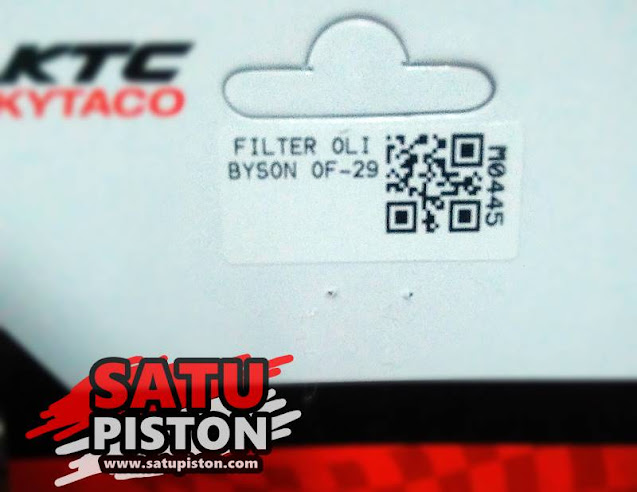 Review Filter Oli KTC Kytaco, Alternatif Persamaan Filter Oli Byson !!!