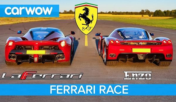 Ferrari LaFerrari vs Ferrari Enzo