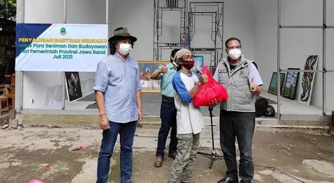 Pemprov Jawa Barat Penuhi Janji, Seniman dan Budayawan Menerima Bantuan Sosial