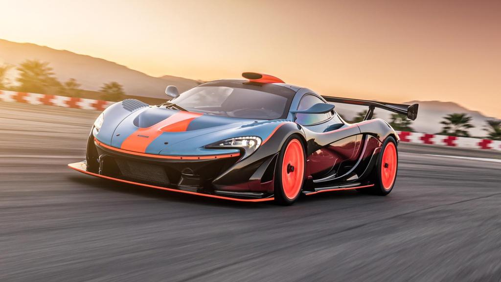 Chi tiết siêu xe McLaren P1 GTR phiên bản đường phố, chỉ có 58 chiếc