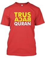 Kaos Trus Baca Quran