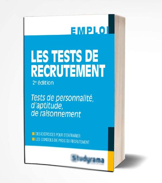 Livre les tests de recrutement en PDF