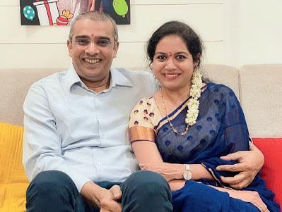 Sunitha Singer Husband Ram Veerapanen