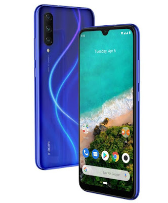 Xiaomi Mi A3 Not Just Blue, 4GB RAM, 64GB Storage,Mi A3