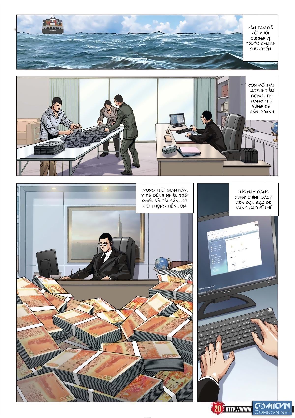 Người Trong Giang Hồ chapter 2011: hàn tân bỏ trốn trang 18