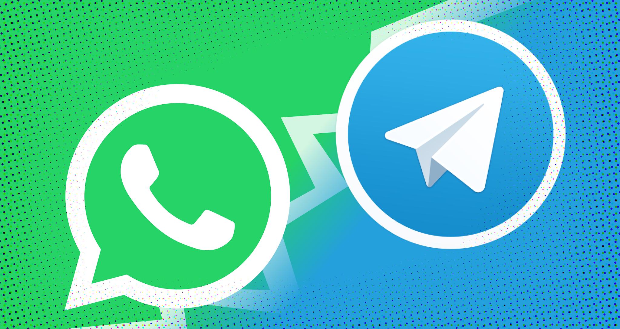 مميزات في تليجرام لا تتوفر في واتس اب