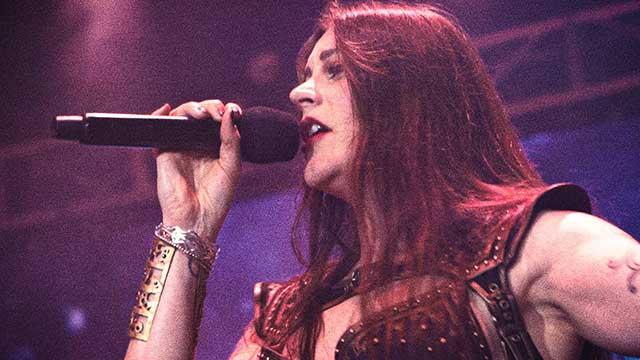 Η τραγουδίστρια των Nightwish, Floor Jansen