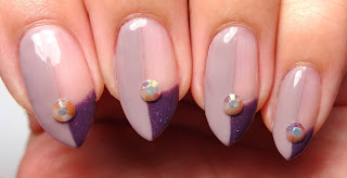 Rhinestone Nails
