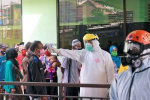 1533 Warga Menjalani Rapid Test di RS Kilisuci Kota Kediri