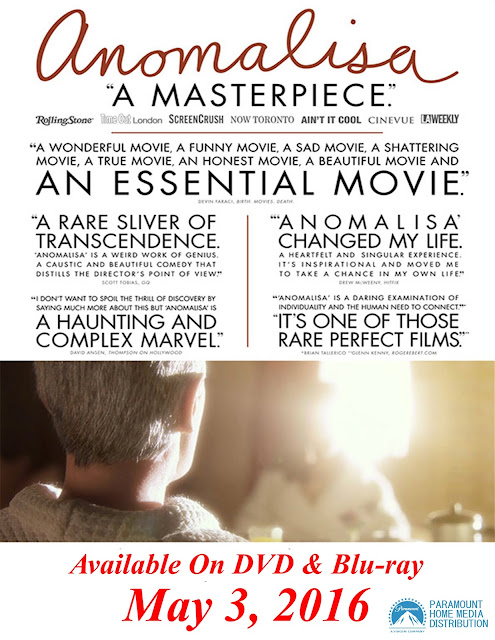 DVD & Blu-ray Release Report, Anomalisa, Ralph Tribbey