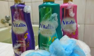 saatnya mandi parfum vitalis body wash