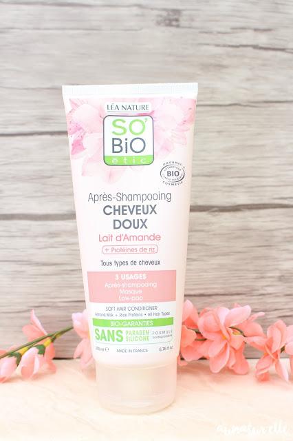 avis après-shampoing so bio étic
