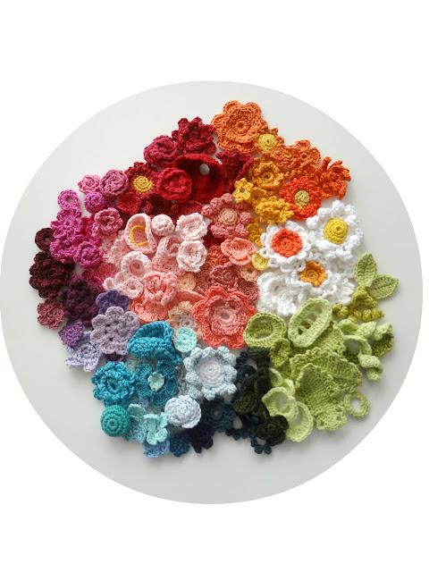 Crochet Flowers Sneak-Peek