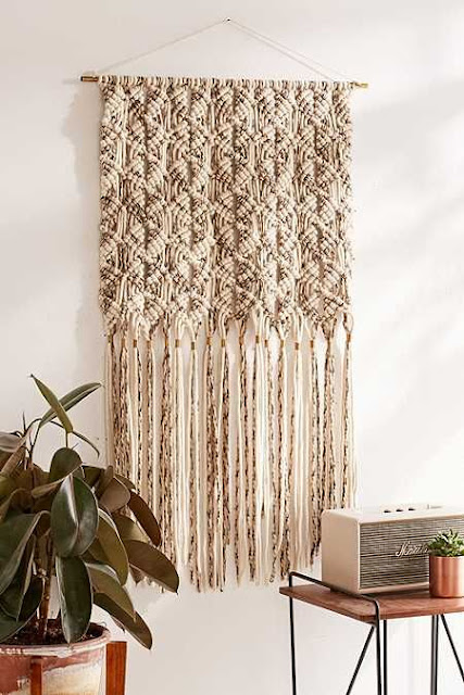 large macrame decoration