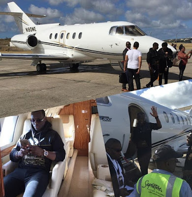 Image result for Dammy Krane, who was arrested for boarding a private Jet with a stolen credit card