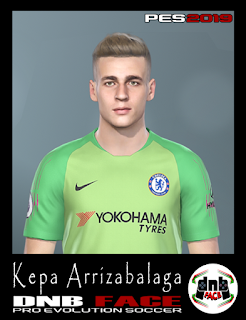 PES 2019 Faces Kepa Arrizabalaga by DNB