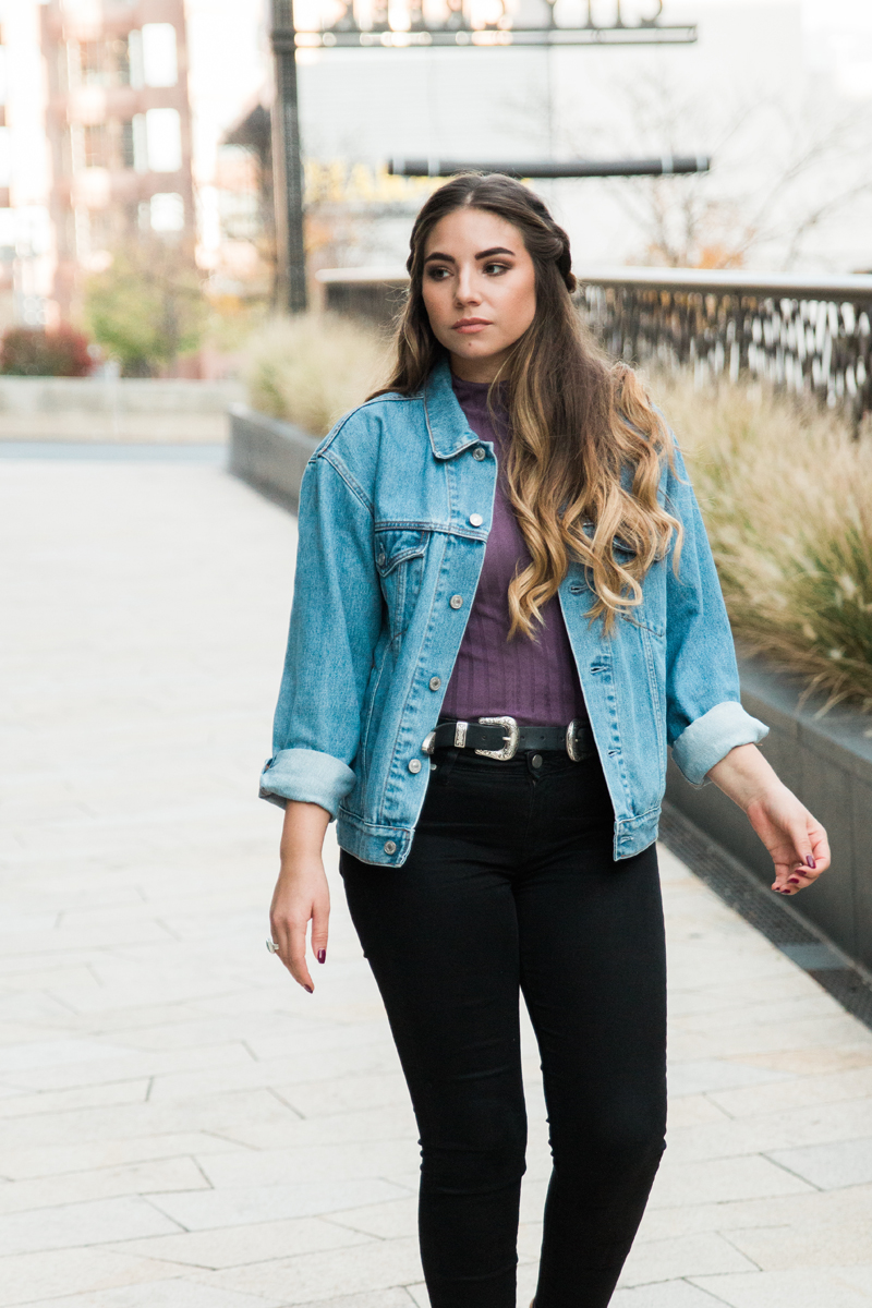 denim jacket, jean jacket, vintage jacket