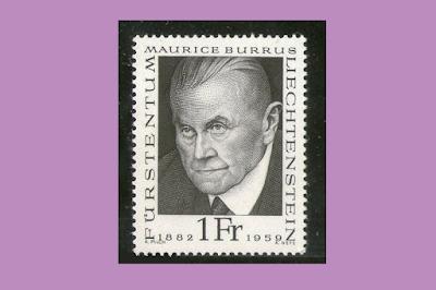 Maurice Burrus - Filatelia