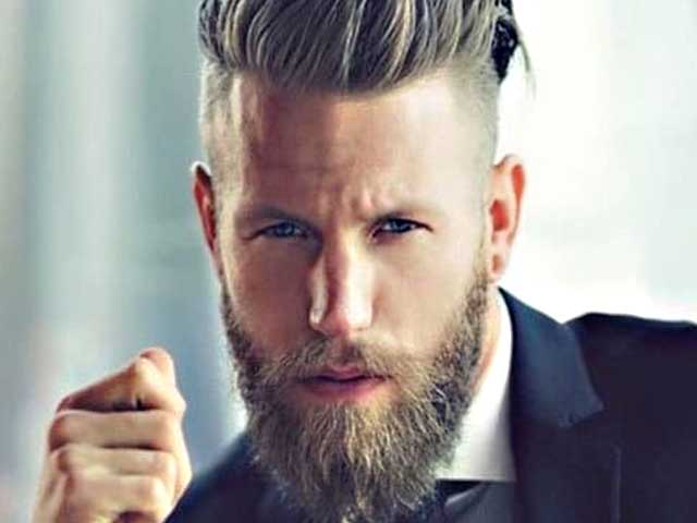 Not everyone gets the privilege of having thick hair and beard. But if you have got this good fortune, then this look is for you. You too can easily achieve a macho man type look by adopting this look.