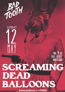 Screaming dEAD Balloons live @ Bad Tooth [12.May.'19]