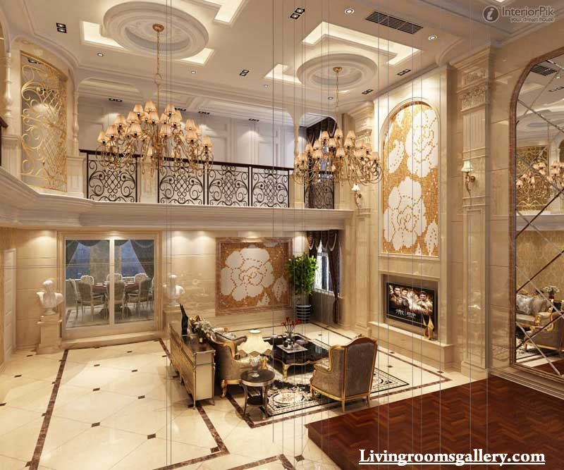 30 elegant modern pop false ceiling designs for living room living rooms gallery - European inspired home decor photos ...