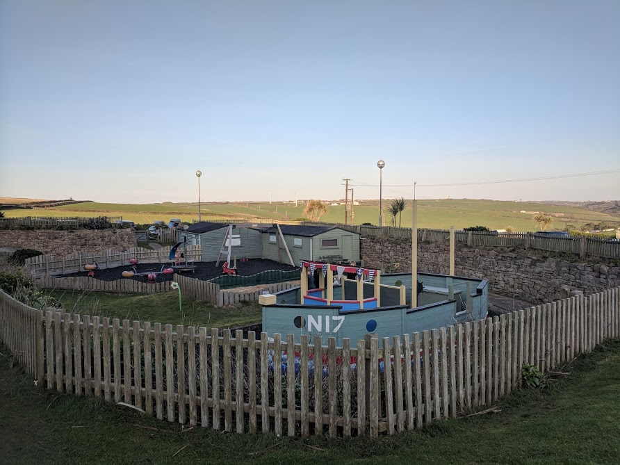 The Sands Resort Cornwall Review | A Family Hotel with Kids Club near Newquay  - playground and mini golf