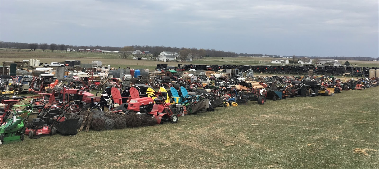 My Amish Indiana: Yoder Consignment Auction