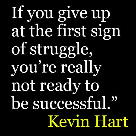 Kevin Hart Quotes. Inspirational Quotes On Success, Dream ...