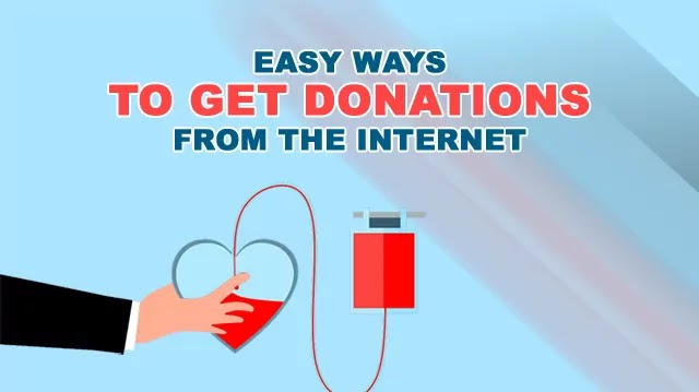 Easy Ways to Get Donations from the Internet