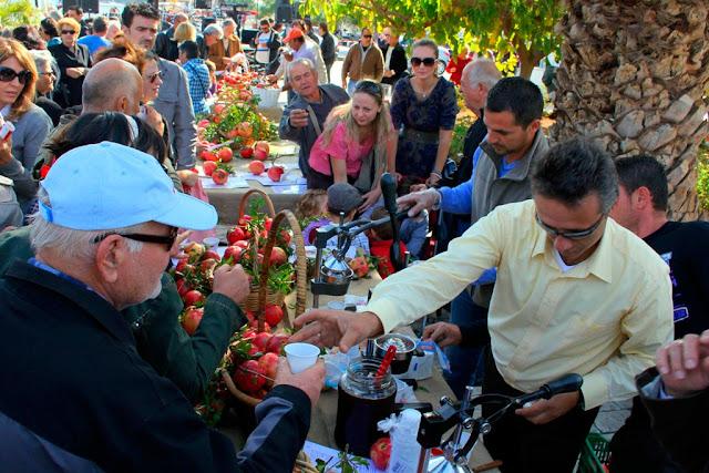 26 - 27 Οκτωβρίου η 9η Γιορτή Ροδιού στην Ερμιόνη