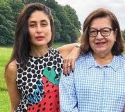 kareena kapoor khan with her mother