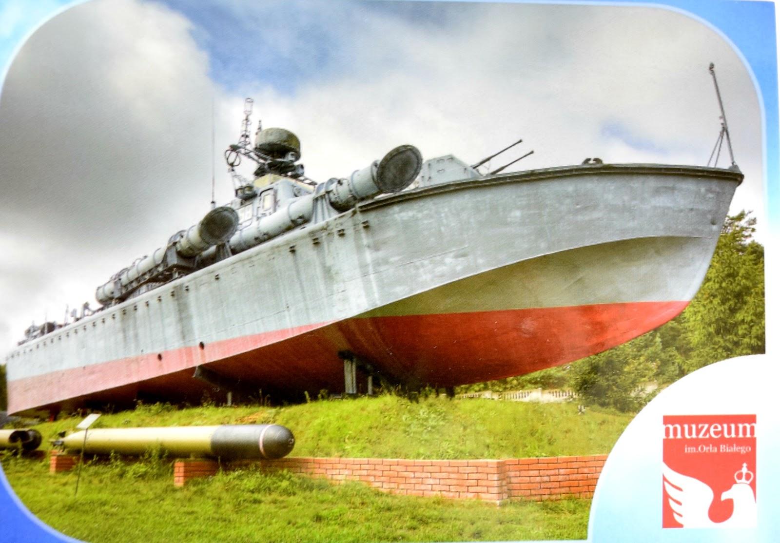 """ORP """"Odważny"""" - polski kuter torpedowy projektu 664."""