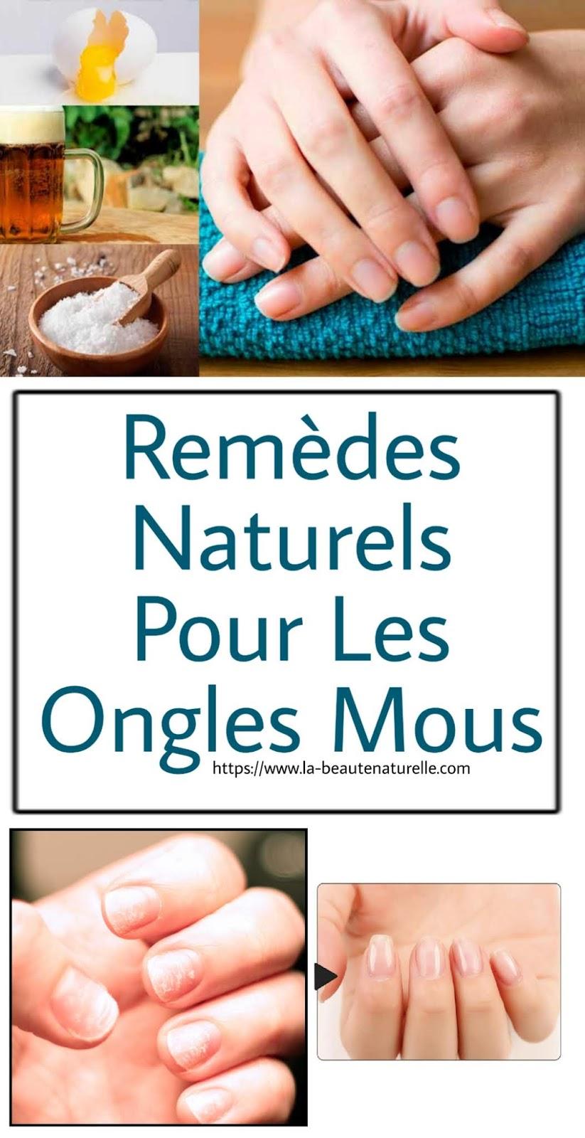 Remèdes Naturels Pour Les Ongles Mous