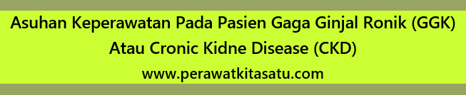 Laporan Pendahuluan Askep Gagal Ginjal Kronik (GGK) pdf doc