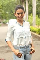Rakul Preet Singh in Jeans and White Shirt At Jaya Janaki Nayaka le Logo Launch ~  Exclusive 070.JPG
