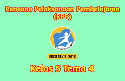 download rpp kelas 5 tema 4 k13 tahun 2019 2020
