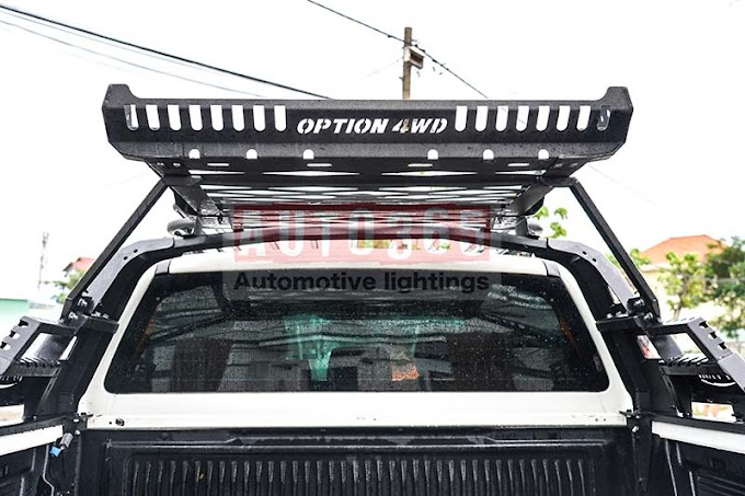 Khung thể thao Option 4wd cho Ford Ranger tại AUTO365 NHA TRANG