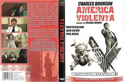 Carátula dvd: América violenta