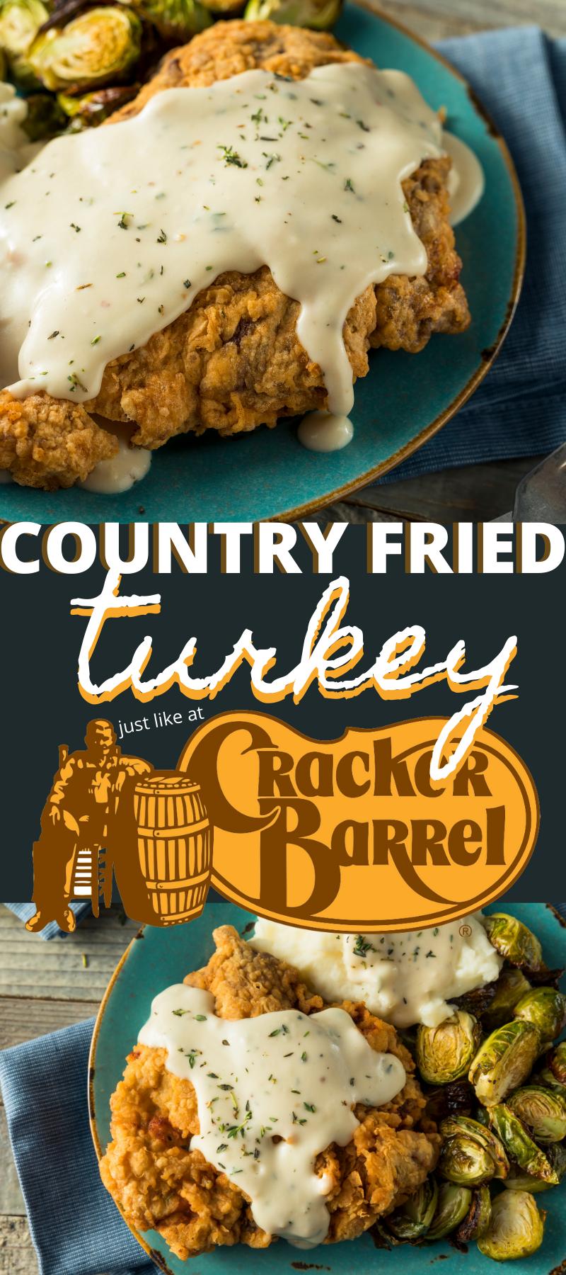 Country Fried Turkey Like Cracker Barrel